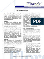 Care and Maintenance -V4