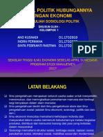 Sosiologi Politik Kel 1 Disgab Xix