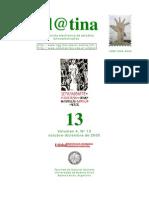 La construcción de la comunidad política. Revista ELATINA N°13