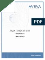 Aveva Instrumentation Installation User Guide