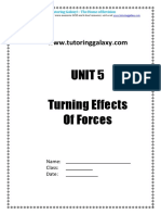 TG Turning Effects of Forces