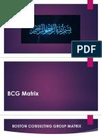 BCG Matrix Presentation by Khalid Mirza