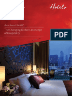 JLL the Changing Global Landscape of Hospitality