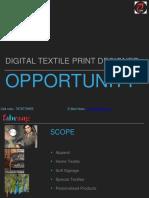 Digital Textile Printing Course