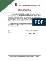 BDK Engineering Industries Put Ltd; Hubli.doc