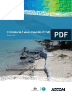 Poruma Sea Wall Feasbility Study