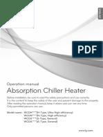 OM AbsorptionChiller DirectType