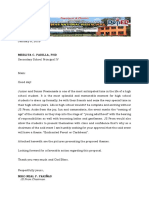 Proposal Letter for the JSProm