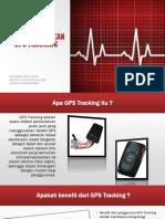 Sistem Pelacak GPS Tracking
