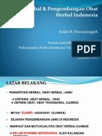 Konsep Herbal Oleh Prof. Erni