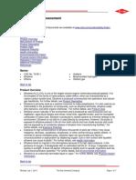 Product Safety Assessment Ethylene