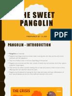 The Sweet Pangolin