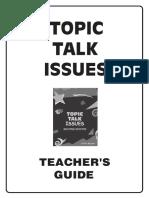 Talk Topic Issues
