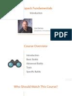 1 Webpack Fundamentals m1 Slides