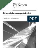 String Diplomas Rep List