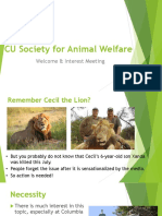 web cu society for animal welfare interest meeting v