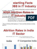 High Attrition Rates IT Industry