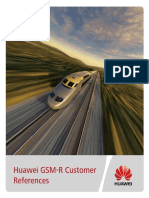 Huawei GSM-R Customer References