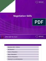 7. Negotiation Skills