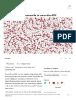 Cómo Eliminar La Contraseña de Un Archivo PDF