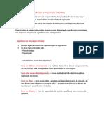 Funções Básicas de Programação e Algoritmia