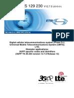 3gpp Ts 29 230 (Rel 12 Diameter)