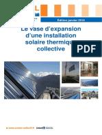 De l'importance du vase d'expansion dans le solaire thermique