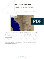 Jabal Sayid Project