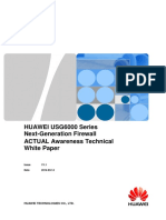 HUAWEI USG6000 Series Next-Generation Firewall Technical White Paper - ACTUAL Awareness