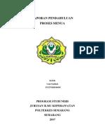 Laporan Pendahuluan Praktik Gerontik 201
