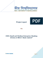 SME (Small and Medium Enterprise) Banking Division of BRAC Bank Limited