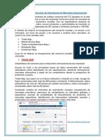 Herramientas de Servicio de Información de Mercados Internacional