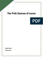 The Folk Dances of Luzon