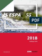 201801 Espa Catálogo Tarifa 2018
