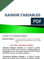 FINALS - Random Variables