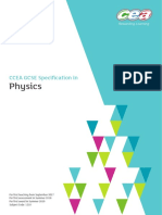 CCEA GCSE Physics Specification