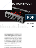 Audio Kontrol 1 Manual Spanish