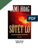 Tami Hoag - Sötét Ló