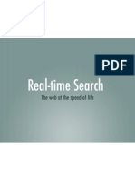 Real-time search