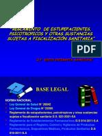 REGLAMENTO DE PRODUCTOS FARMCEUTICOS CONTROLADOS Y FISCALIZADOS