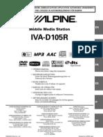 Alpine Iva d105