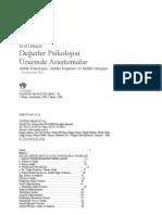 Erol Güngör - Değerler Psikolojisi