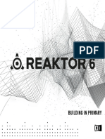 REAKTOR 6 Building in Primary English