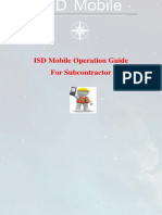 ISD Mobile Operation Guide for Subcontractor Arabic Version by Emad Eldi