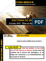Discipulado Nº 6 Dios Es Eterno