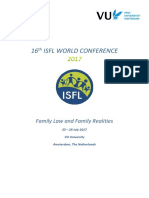 ISFL World Conference 2017 Programme 28 07