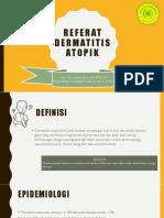 Referat - Dermatitis Atopik