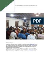 Chaljub Diserta en Puerto Plata