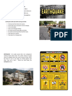 Earthquake Brochure