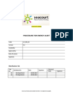 04.4.3 Procedure for Energy Audit